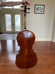 Full Size Cello | Mint Condition - 4/4 Size - Hard Case And Many Books And Extras