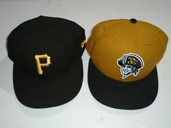 Pittsburgh Pirates New Era Game Authentic Collection On-field 59fifty Hats 7 5/8