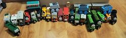 Thomas And Friends Lot Of 28 Wooden Trains