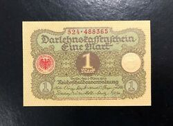 Germany-1 Mark-1920-serial Number 488365-pick 58 Unc .