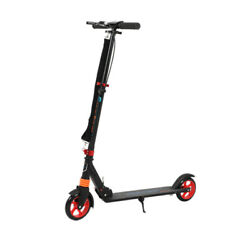 Scooters For Kids 8 Years And Up Foldable Kick Scooter 2 Wheel Quick-release