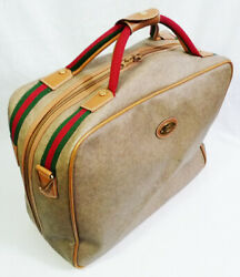 Vintage Authentic Carry-on Travel Suitcase Luggage Bag