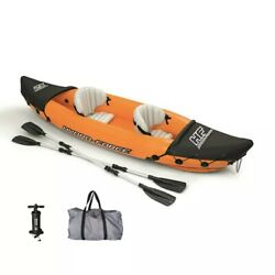 10ft Inflatable Boat Water Sport Fishing 2 Person Paddle Kayak Boat Surfboard