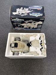 Power Rangers In Space Deluxe Dx Silver Titanus Carrierzord Complete Megazord