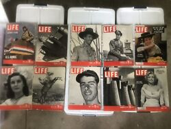 1936 - 1960s Life Magezines 800 Including Rare Issues Sold For Charity
