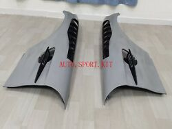 Front Bumper Side Fender With Carbon Fiber Vent For Amg Gt Gts Body Kit New