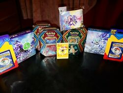Japanese Chilling Reign, Dragonite/salamence Tins, Mystery Packs Sealed Lot