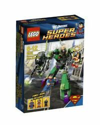 New In Box Lego Super Heroes Superman Vs Power Armor Lex 6862 Us Shipping