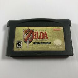 The Legend Of Zelda A Link To The Past Four Swords Gameboy Advance Gba Authentic