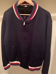 Wool Jersey Jacket In Mint Condition Pre - Owned Mens Clothing