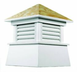 Kent Vinyl Cupola With Wood Roof 18 X 22