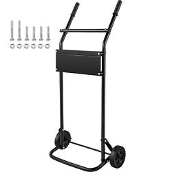Vevor 130lbs Outboard Boat Motor Stand Carrier Cart With Wheel Enginee Carrier
