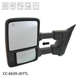 Cpp Fo1320426 Heated Left Mirror For 08 Ford F-250 Sd F-350 Sd
