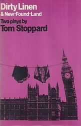 Tom Stoppard Dirty Linen And New-found-land 1976 Signed First Printing Hc/dj