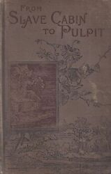 Rev Peter Randolph From Slave Cabin To The Pulpit 1893 First Edition Very Rare