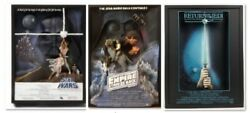 Difficult To Obtain Code Star Wars 3d Movie Poster Ep456 Set Out Of Print///