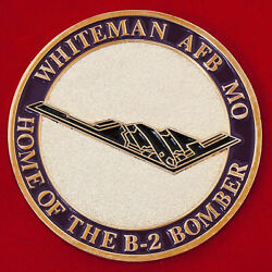 Challenge Coin. Whiteman Air Force Base Personnel Us Coins. Army. Military. Usa