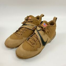 New Nike Force Zoom Trout 6 Veterans Day Rare Pe Baseball Cleats Size 11.5