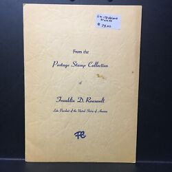 From Franklin Delano Roosevelt Stamp Collection 2 Switzerland Stamps