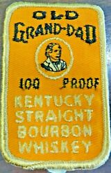 Old Grand-dad 100 Proof Kentucky Straight Bourbon Whiskey Patch