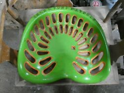 Jack Son Maybole Vintage Cast Iron Tractor Implement Seat Collectibles