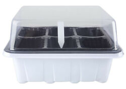 12 Sets Seed Starter Tray 6 Holes Seed Start Trays Sow Easy 72 Holes Seed Tray