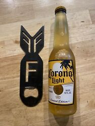 Bottle Opener Collector Man Cave F-bomb Decor Beer Soda Bbq Solid Steel Wow Gift