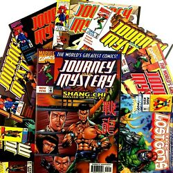 Journey Into Mystery 9 Comic Lot Marvel Vf Nm Shang-chi Black Widow 511 514-521