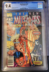 New Mutants 98 Cgc 9.4 White Pages 1st Deadpool Newsstand Pressable Upgrade