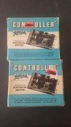Lot2 Atlas Model Railroad Connector Electrical Switch In Original Box Vintage