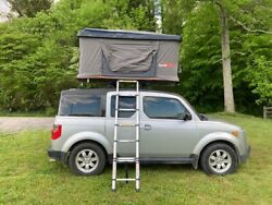 Roof Top Tent Roofnest Tent Black Hardcover Two Person