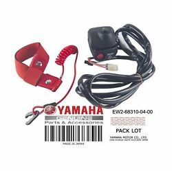 New Oem Yamaha Wave Runner Super Jet Start Stop Kill Switch And Tether Lanyard