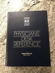 2009 63 Edition Physicians' Desk Reference Pdr