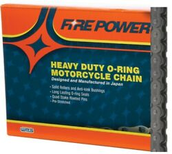 Fire Power Mx Atv Motorcycle O-ring Chain 530 Pitch 130 Links 530fpo-130