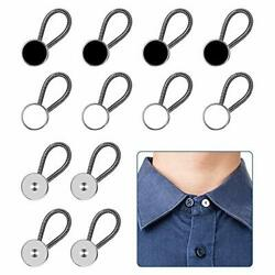 12pcs Collar Extenders Comfy Premium Invisible Neck Extender Adds 1 In Inst