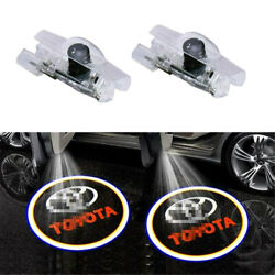 Led Logo Door Courtesy Light Ghost Shadow Laser Projector For Toyota Camry