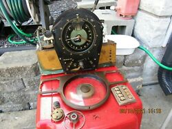 1938 Zenith Shutter Dial Chassis Dial Knobs Etc. As Is.