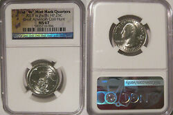2019 W Guam War In The Pacific Np Quarter 25c Ngc Ms 67 West Point