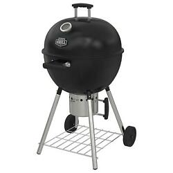 Superior Kettle Charcoal Bbq Grill W/ Heavy-duty Large Wheels Outdoor Cooking