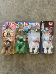 Ty International Beanie Baby Original Unopened Packaging Set Perfect Condition