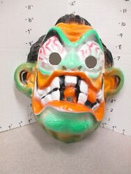 Halloween Mask 1970s Marx Nutty Mad Hawk Model Weird-oh Monster Ed Roth Hot Rod
