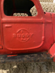 Antique Buddy Pressed Steel Toy Truck C1940a