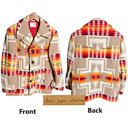 Pendleton Jacket Coat Outer Chief Joseph Native Wool Rug Vintage 80and039s