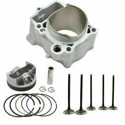 Cylinder Piston Rings Intake Exhaust Valves Kit For Yamaha Yz250f Wr250f 01-13