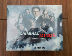 Criminal Minds Season 1-15 Dvd85-discregion 1 Brand New And Free Shipping