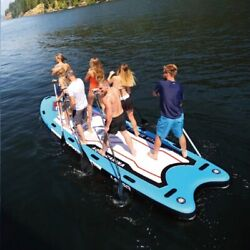 18ft Inflatable Surfboard Long Size Stand Up Paddle Sup Board Complete Kit Boat