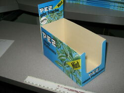 Pez 1980-1982 Era Mint Vintage Store Display Counter Box Candy Pack
