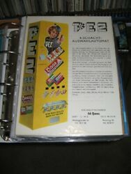 Pez Ad Sheet 1950s Foreign Vending Machine Yellow Pinup Girl