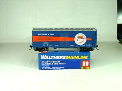 Walthers Mainline Ho Scale 40and039 Aar 1944 Box Car Baltimore And Ohio 910-1316