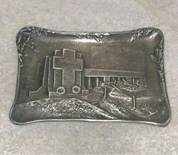 Rare Gorham Verdun Trench Monument Sterling Silver Custom One Of A Kind Art 228g